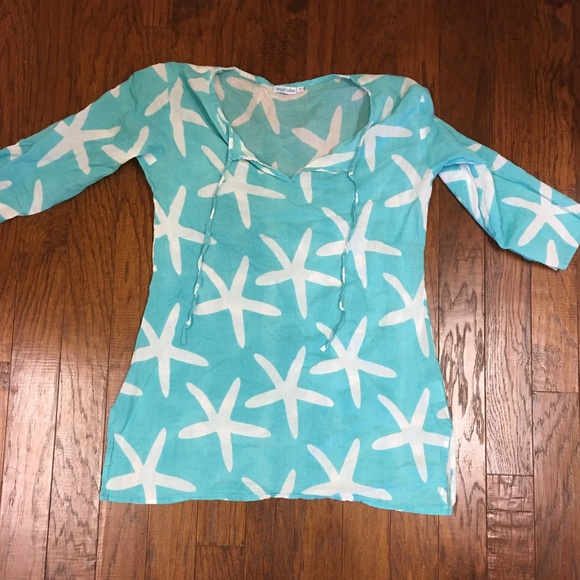 b7153950813 West Indies Swim | Starfish Beach Coverup | Poshmark